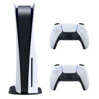 مجموعه کنسول بازی سونی مدل PlayStation 5 ظرفیت 825 گیگابایت به همراه دسته اضافی