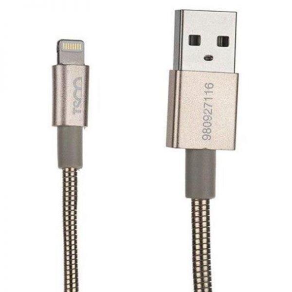 کابل تبدیل USB به لایتنینگ تسکو مدل TC i27 طول 1 متر